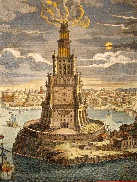 alexandria light and power the lighthouse of alexandria was one of the premier