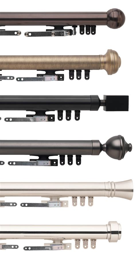 select metal traverse rod sets