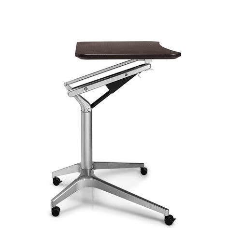 sit to stand rolling workstation levenger 174