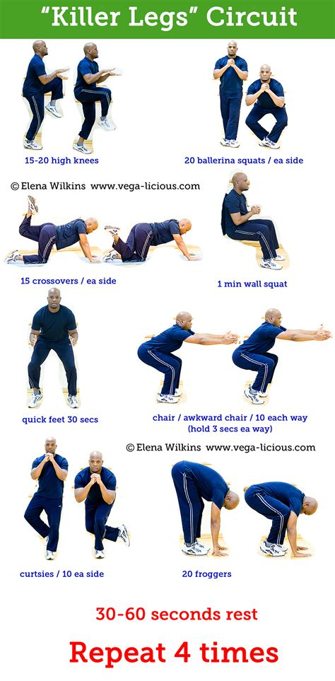 at home leg workouts get legs with these at home leg exercises vegalicious