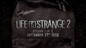 Life is Strange 2 First Episode Release Date Announced