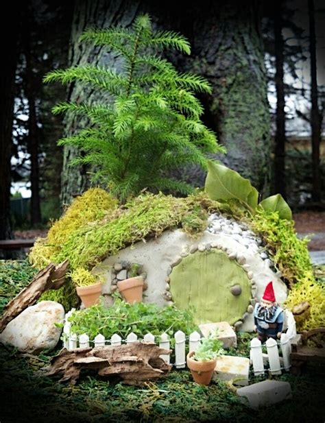 Gnome Homes For Gardens gnome home the enchanted acorn gardens miniature