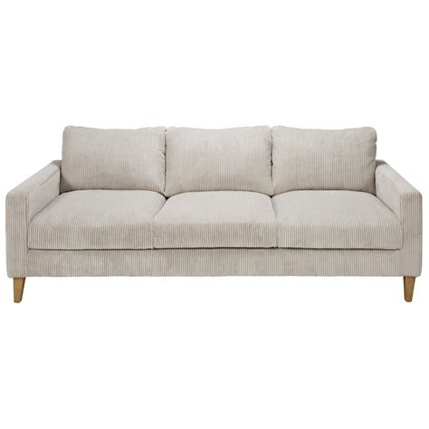 Gray Corduroy Sectional Sofa by Light Grey Corduroy 4 Seater Sofa Holden Maisons Du Monde