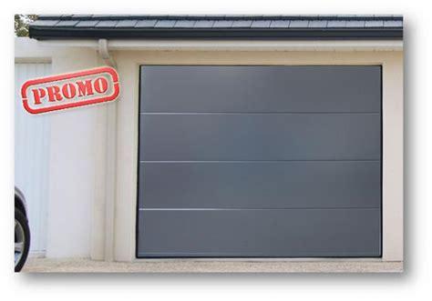 promotion sur les portes de garage sectionnelles