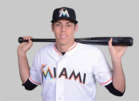 Outfielder Christian Yelich Branches Off