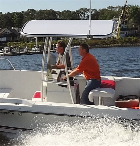 Tee Tops For Center Console Boats by Center Console T Tops Custom T Tops Boat T Tops