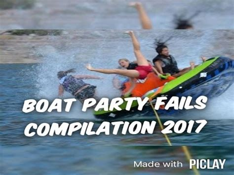 Boat Party Fails boat party fails compilation january 2017 fail ntr