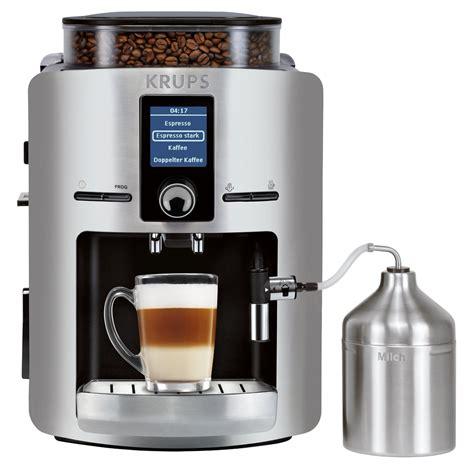 Tested   Krups EA 826E Coffee Machine