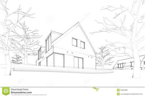 croquis maison 28 images croquis de maison moderne villa terrasse et jardin photos libres de