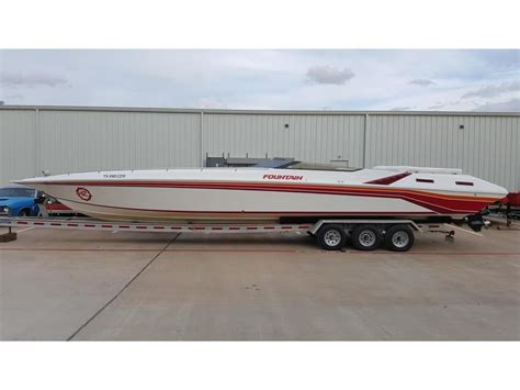 Offshore Boats For Sale Texas by 1990 Fountain Na Powerboat For Sale In Texas