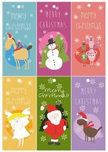 Geschenkkarten Zum Ausdrucken : kostenlose merry christmas geschenkkarten pferdewiese ~ Markanthonyermac.com Haus und Dekorationen