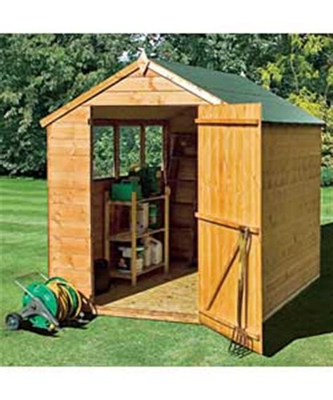 6 x 8 foot wooden shed 6x8 ft wooden shiplap shed with wide door garden shed