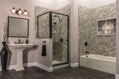 Decorative Tub & Shower Wall Panels, Granite, Marble