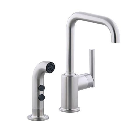 kohler purist low arc single handle standard kitchen