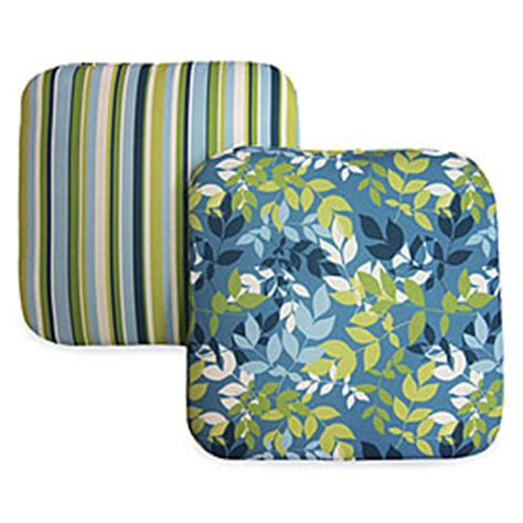 halifax turquoise lime reversible chair cushions 2 pack big lots