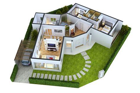 Plan 3d : Impressive Floor Plans In 3d