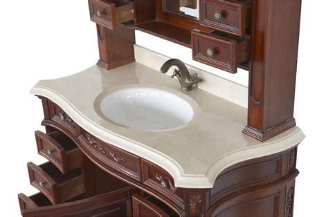 constance ii antique style bathroom vanity single sink 49 1 quot