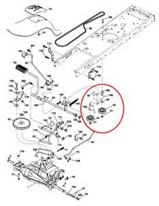 craftsman lt2000 belt diagram