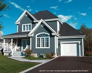 Häuser In Amerika : vh 2801 amerikanische villen amerikanische h user kanadische fertigh user h user pinterest ~ Markanthonyermac.com Haus und Dekorationen