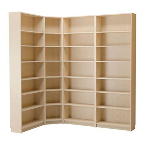 billy biblioth 232 que plaqu 233 bouleau 135 215x237x28 cm ikea