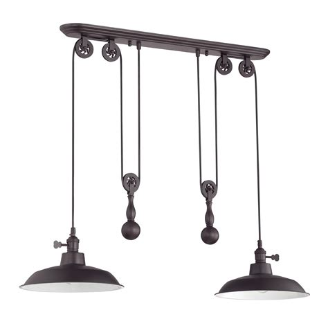 craftmade pulley 2 light kitchen island pendant reviews