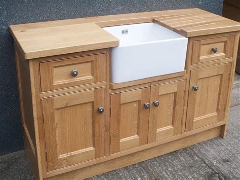 Free Standing Kitchen Cabinets Home Depot oak belfast sink base free standing kitchen cabinets