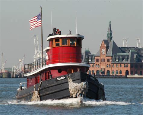 Tugboat Deckhand Life by Rivertalks Beczak Hudson River Tugboat Day Is June 23