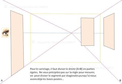 comment dessiner la longueur d un mur en passant par la diagonale christiane allenbach