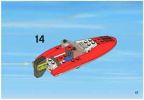 Lego Mini Boat Instructions by Lego Speedboat Instructions 4641 City