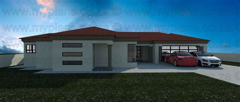 3 Bedroom House Plans MLB056S  My Building Plans