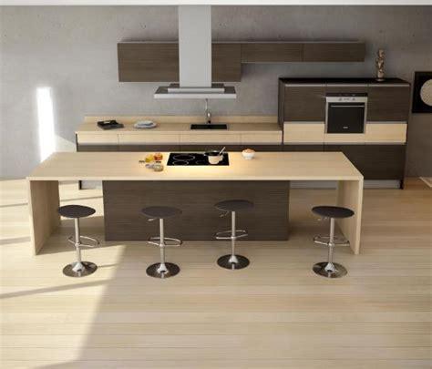 cuisine m 233 lamine photo 13 15 modernit 233 du bois contemporain avec