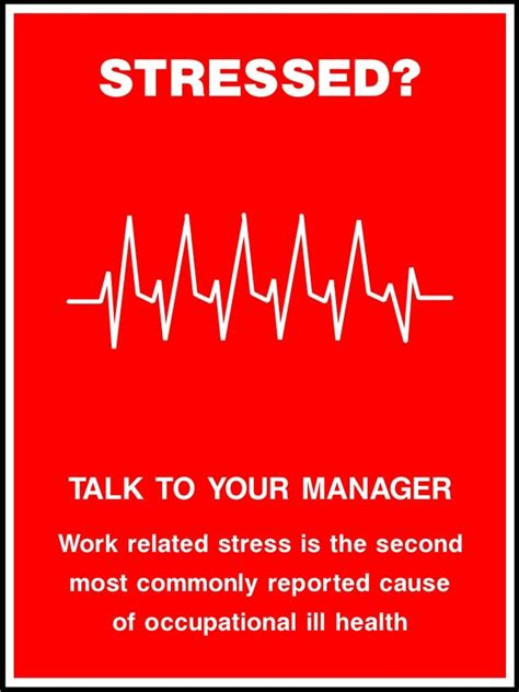 Work Related Stress Poster  Sk Signs & Labels Safety Posters. Native American Signs Of Stroke. Cramps Signs. Arcade Signs. Leader Signs. Night Signs. Happy Signs Of Stroke. Cystic Duct Signs Of Stroke. Cerebellar Infarction Signs