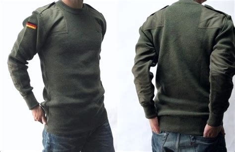 German Military Command Knit Sweater / Combat Knit Top