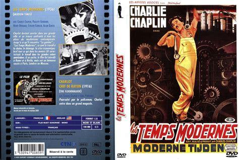 jaquette dvd de les temps modernes cin 233 ma