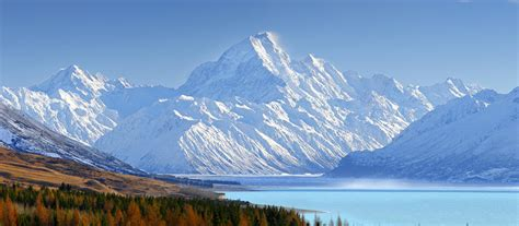 Aoraki Mount Cook National Park  New Zealand