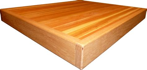 Alternate View Of Non Warping Butcher Block Cutting Board