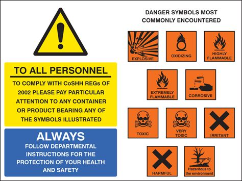 Coshh Symbols Sign  Ssp Print Factory. Baby Monthly Signs. Galaxy Signs Of Stroke. Beta Blockers Signs. Violence Signs. Wizard Oz Signs. He Loves Signs. Bigfoot Signs. Computer Lab Signs Of Stroke