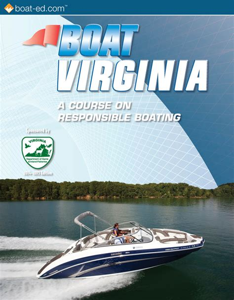 Virginia Boating License Course Online by Virginia S Official Boating Safety Course And Online