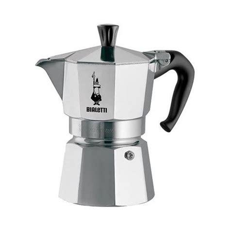 Bialetti Moka Express Stovetop Espresso Maker   2 Cup