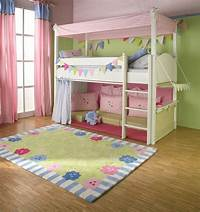 girls bunk beds Girls Cabin bed with Canopy, curtains and cushions | The ...