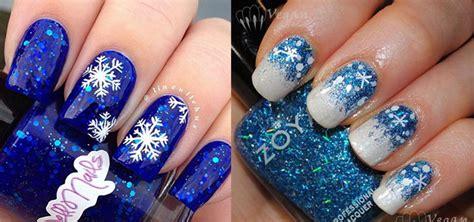 15+ Blue Winter Nail Art Designs, Ideas, Trends & Stickers