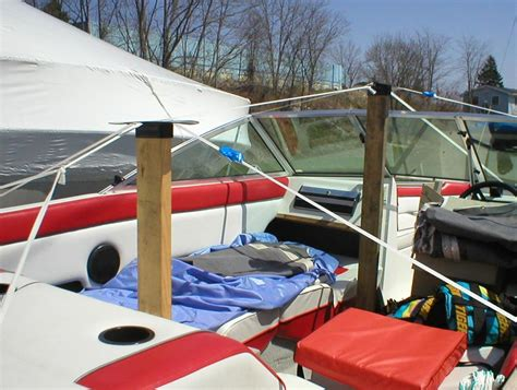 Boat Shrink Wrap Red Deer by Boat Cover Or Boat Tarp