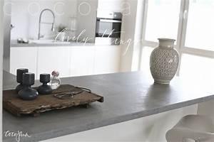 Modulküche Selber Bauen : die besten 25 arbeitsplatte betonoptik ideen auf pinterest k chenmodule wasserfall ~ Markanthonyermac.com Haus und Dekorationen