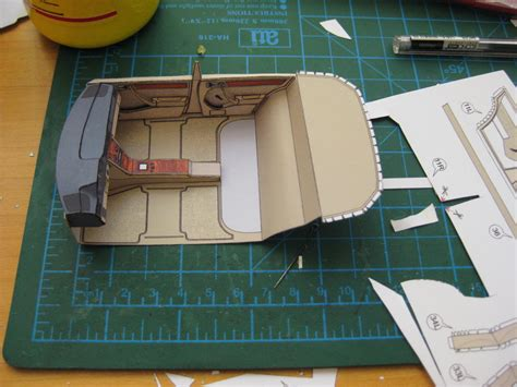 Mercedes Benz W124 Paper Interior (in Process) By Sulikgt