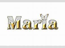 Imágenes del nombre Maria con animación