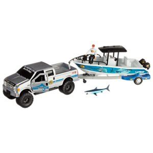 Toy Boat And Trailer Set by Play Sets Bass Pro Shops