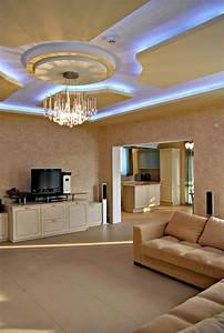Beleuchtung Im Wohnzimmer : indirekte beleuchtung f rs wohnzimmer 60 ideen ~ Markanthonyermac.com Haus und Dekorationen