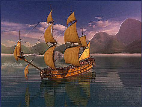 Dessin Animé Bateau Pirate by Bateau Pirate Anim 233