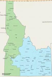 Idaho Voting District Map | afputra.com