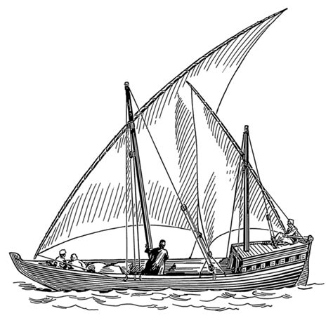 Famous Cartoon Boat Names by File Dhow Psf Png Wikimedia Commons